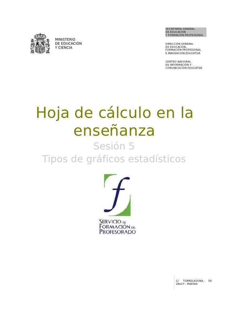 05  Hoja De Calculo En La EnseñAnza. Tipos De Graficos Estadisticos
