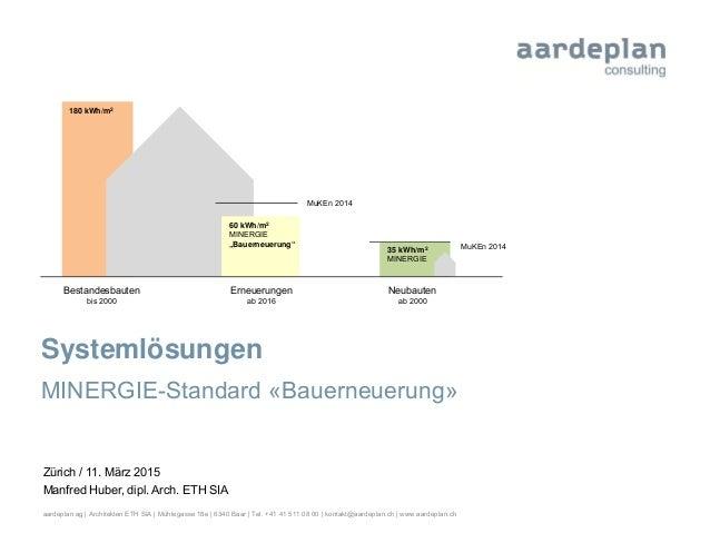 aardeplan ag   Architekten ETH SIA   Mühlegasse 18e   6340 Baar   Tel. +41 41 511 08 00   kontakt@aardeplan.ch   www.aarde...