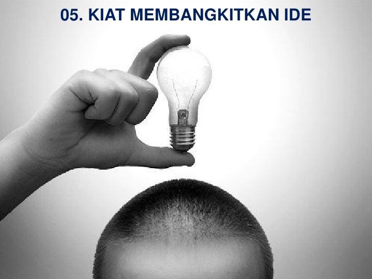 05 kiat membangkitkan ide