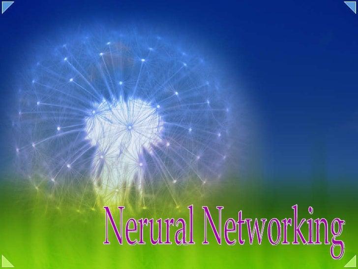 05 nerual networking