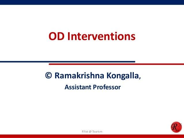 Organizational Development Interventions