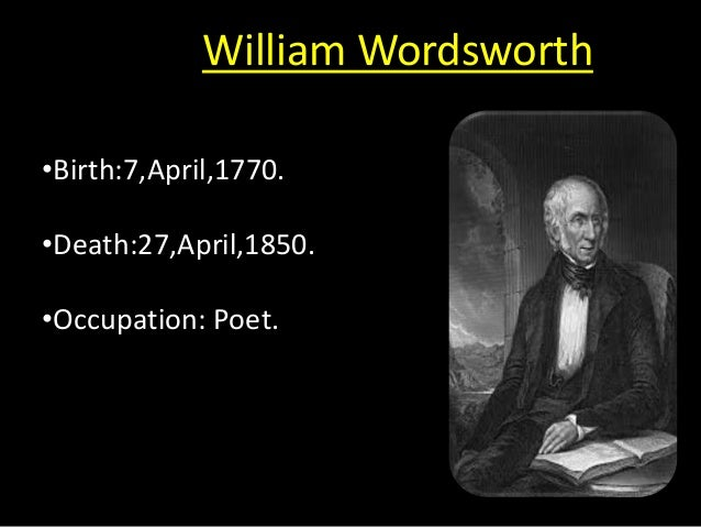 analysis william wordsworth and his poem michael William wordsworth: analysis of the poem 'surprised by joy' analysis on william wordsworth and his poem michael essay william wordsworth poem, lines composed a few miles above tintern abbey july 13, 1798.