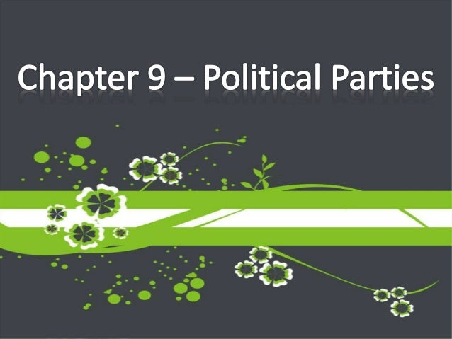 Which of the following differentiates an interest group from a political party? a. A party attempts to influence policy, w...