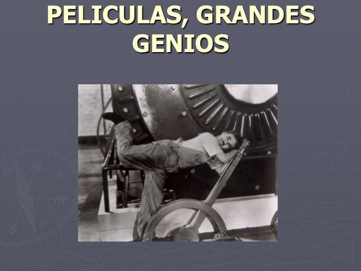 05 Primeras Peliculas Grandes Genios