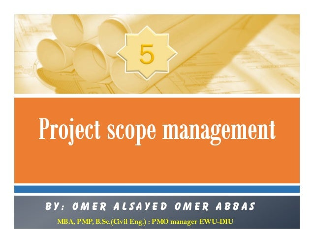 05 project scope management