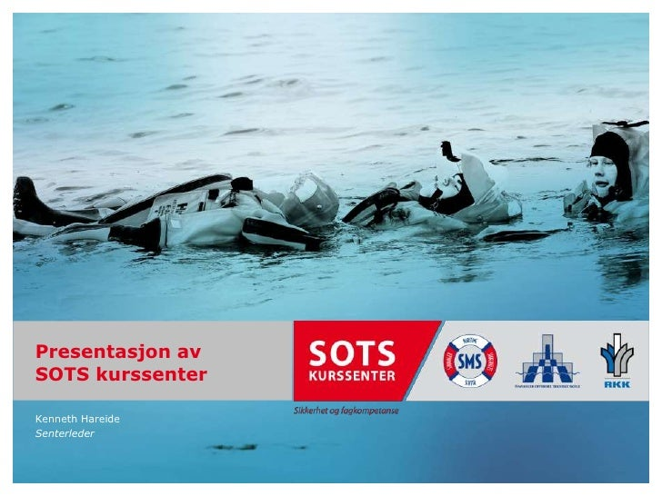Trainingportal Informasjonsmøte - SOTS