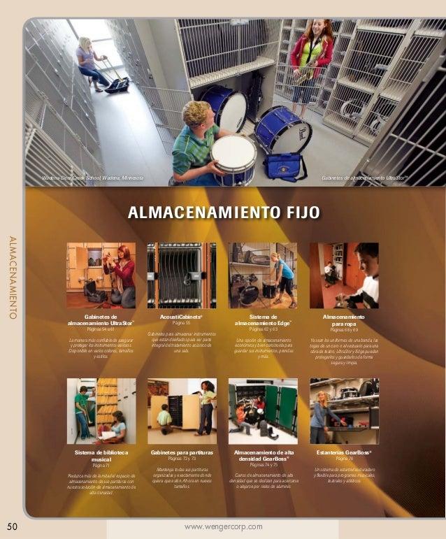 Wadena-Deer Creek School, Wadena, Minnesota  Gabinetes de almacenamiento UltraStor™  ALMACENAMIENTO FIJO ALMACENAMIENTO  G...