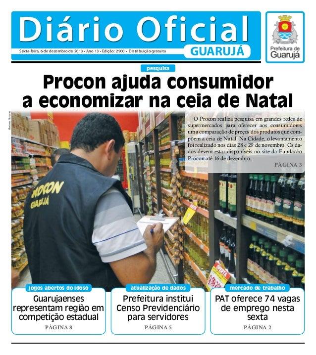 Diário Oficial do Dia - 06/12/2013