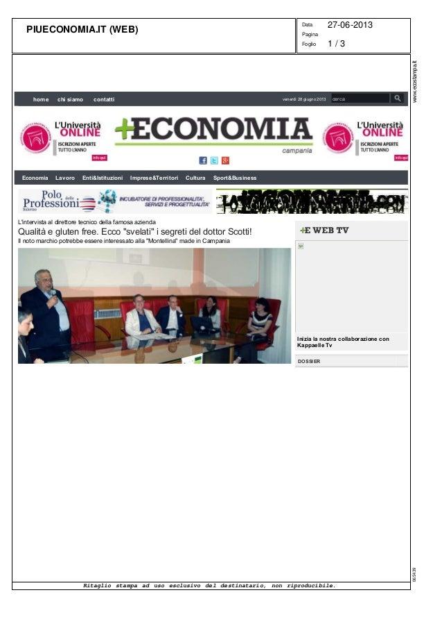 """2013-06 - Da """"Più economia"""""""