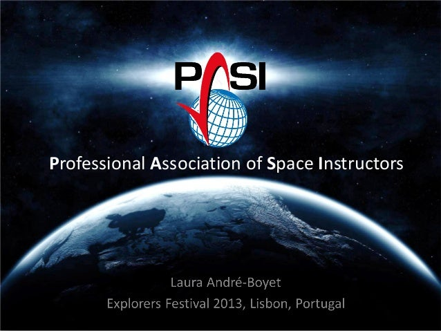 Professional Association of Space Instructors
