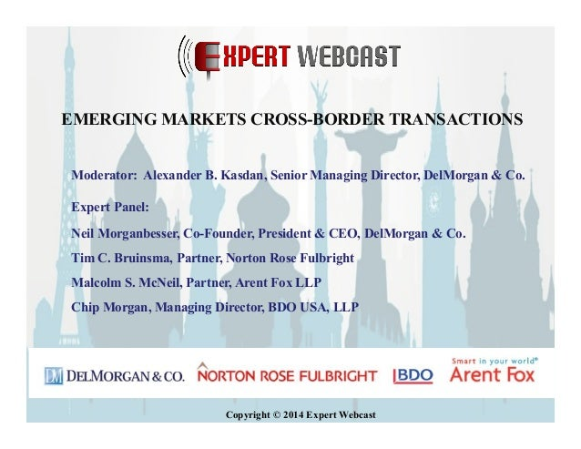 06.12.2014 Emerging Markets Cross-Border Transactions