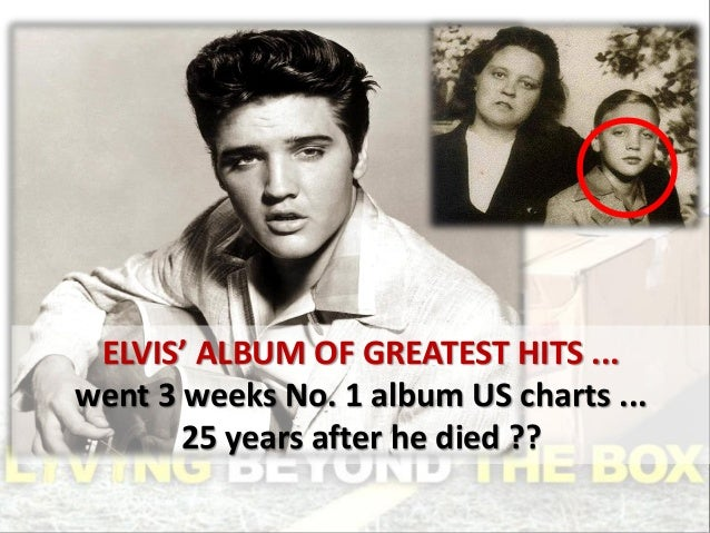ELVIS' ALBUM OF GREATEST HITS ... went 3 weeks No. 1 album US charts ... 25 years after he died ??