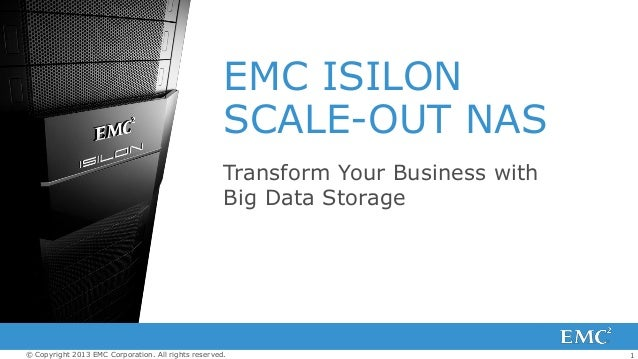 Transform Your Business with Big Data Storage