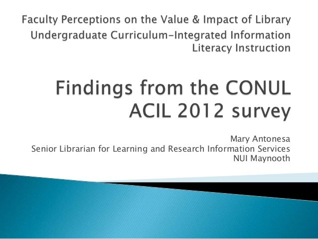 06   mary conul acil survey2012
