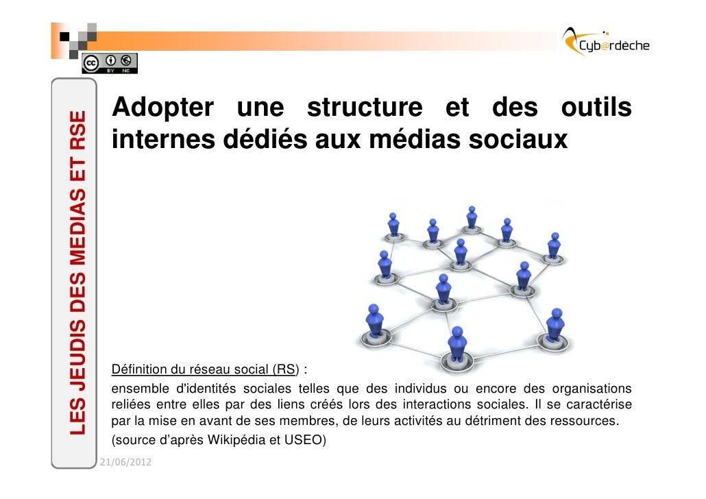 Adopter une structure et des outilsLES JEUDIS DES MEDIAS ET RSE                                 internes dédiés aux médias...