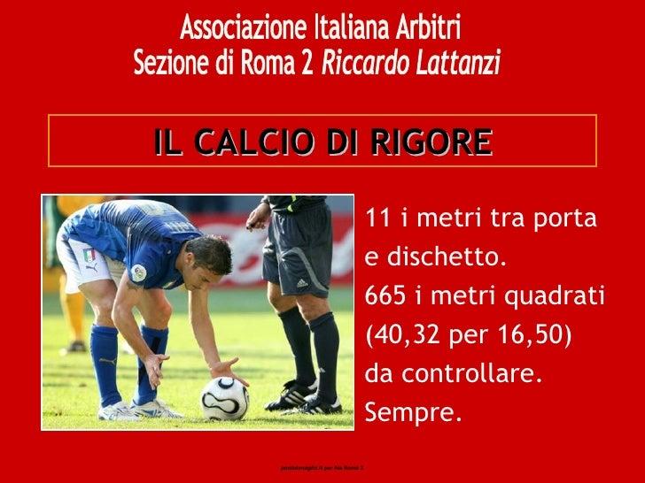 06 Il Calcio Di Rigore