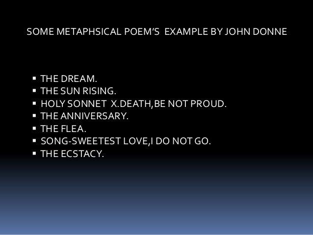 essay john donne metaphysical poet