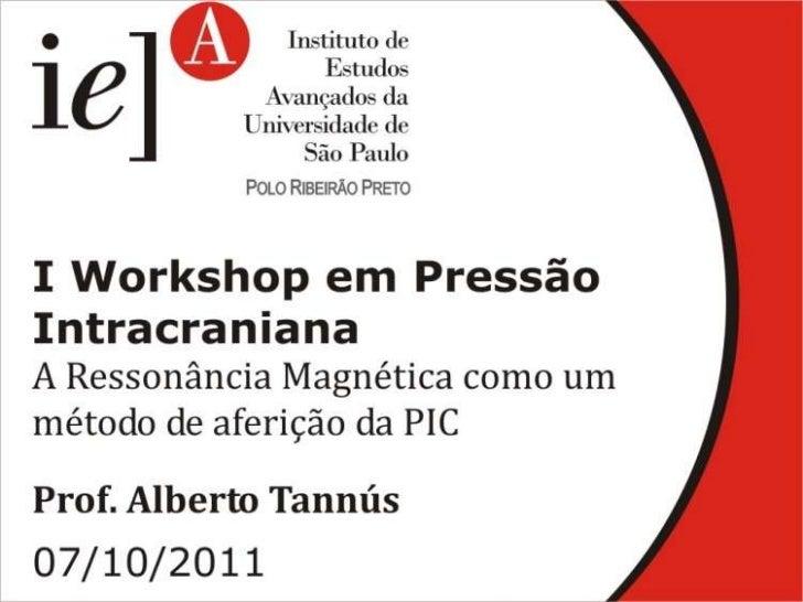 IEA - I Workshop em pressão intracraniana - Parte 6