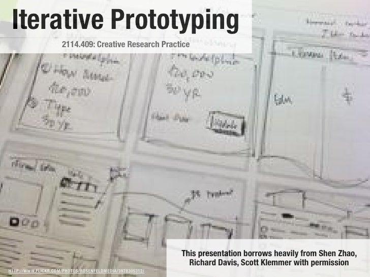 Iterative Prototyping