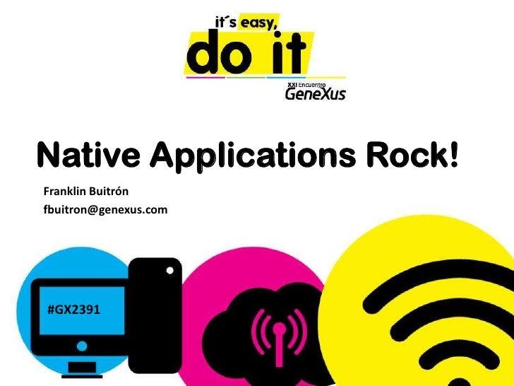 060 native applications-rock