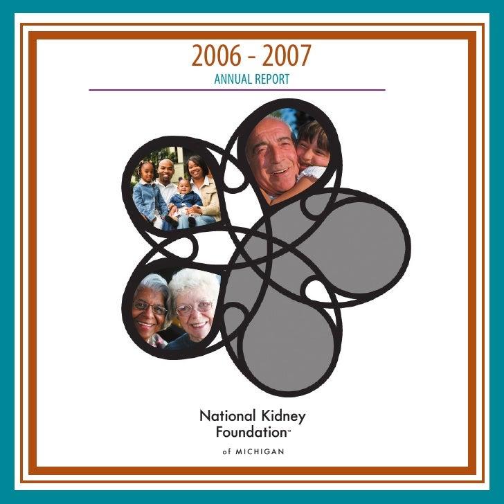 2006 - 2007   ANNUAL REPORT