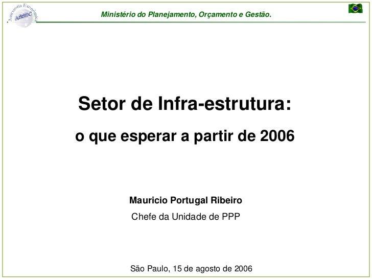 Seminario sobre Investimento Publico e PPP