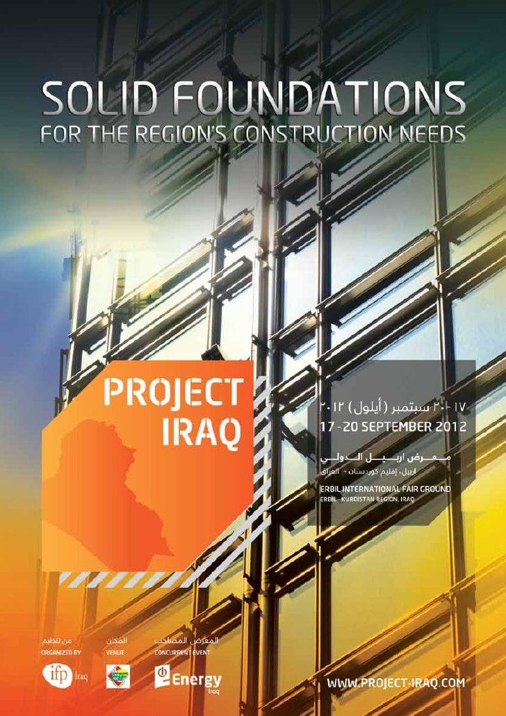 Kurdistan - Empresas Constructoras en Business Trip en Septiembre 2012