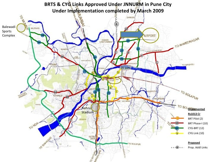 5 10 3 3 6 4 13 14 16 7 17 18 20 19 23 24 27 28 26 22 a b c d f g h i j 1 a Implemented Rs1013 Cr BRT Pilot (2) BRT Phase-...