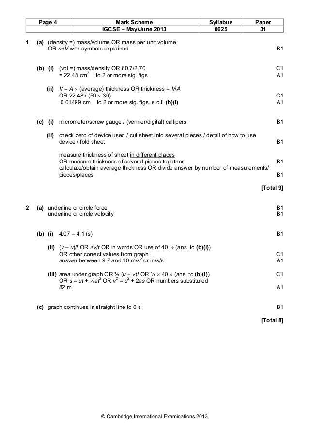 Custom written paper june 2012 mark scheme