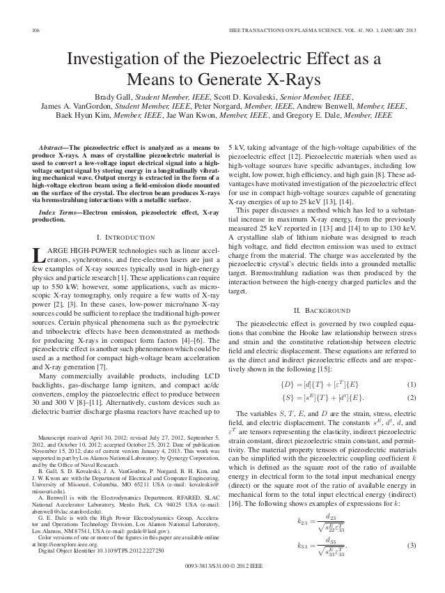 106                                                                                 IEEE TRANSACTIONS ON PLASMA SCIENCE, V...
