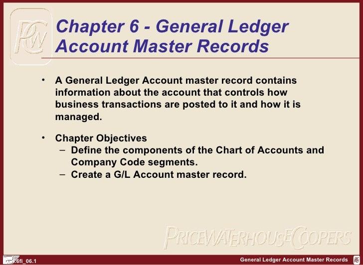 SAP FI General Ledger Records   http://sapdocs.info