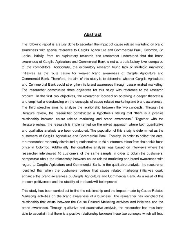Crm dissertation