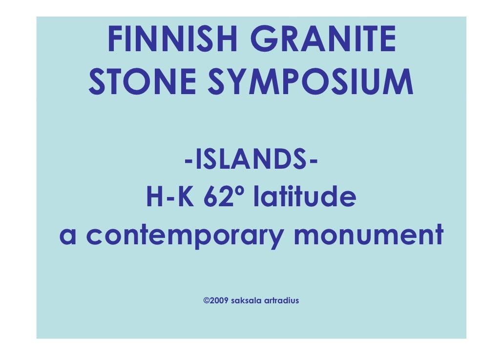 06a Saksala ArtRadius Stone Symposium