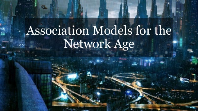 Association Models for the Network Age (+ musings on Social)