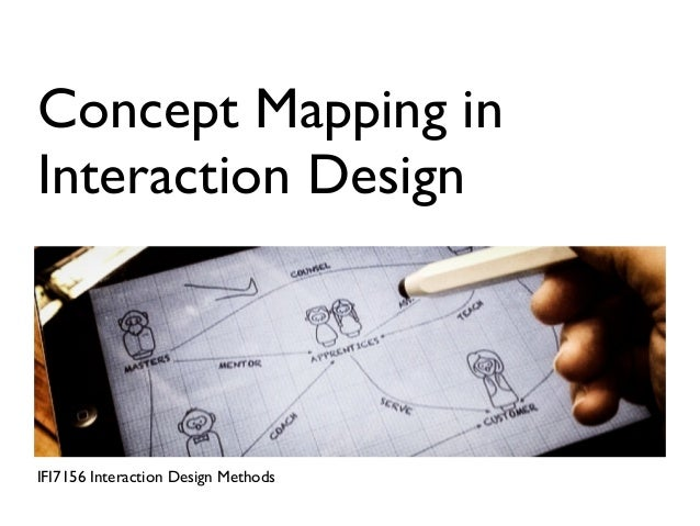 Concept Mapping inInteraction DesignIFI7156 Interaction Design Methods