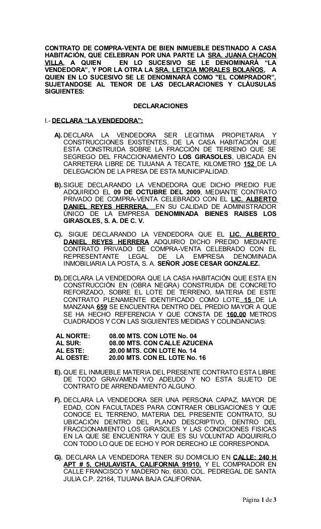 06 contrato de juana 2015 - Compra de casa ...