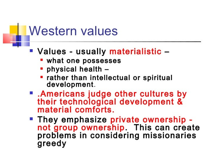 materialism vs values Journal of international business and cultural studies the perception of materialism, page 1 the perception of materialism in a global market.