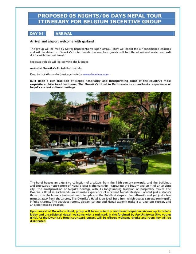 Nepal Incentive Tour / Nepal MICE Tour