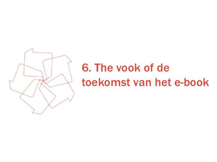 6. The vook of de toekomst van het e-book<br />
