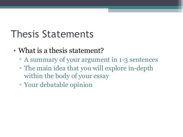 Academic Writing Thesis