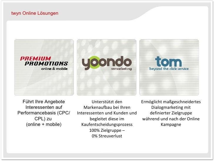 Führt Ihre Angebote Interessenten auf Performancebasis (CPC/CPL) zu  (online + mobile) Unterstützt den Markenaufbau bei Ih...