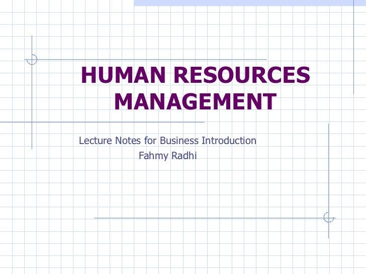 06-Human Resource Management