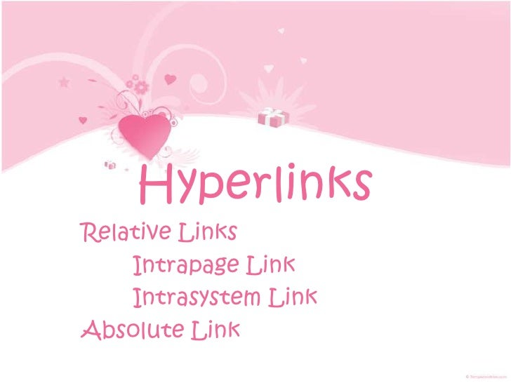 Links - IntraSystem and Absolute