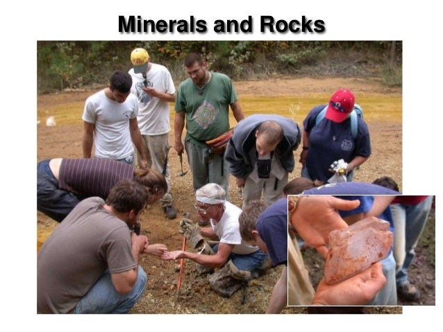 Minerals and Rocks                     Chapter 5