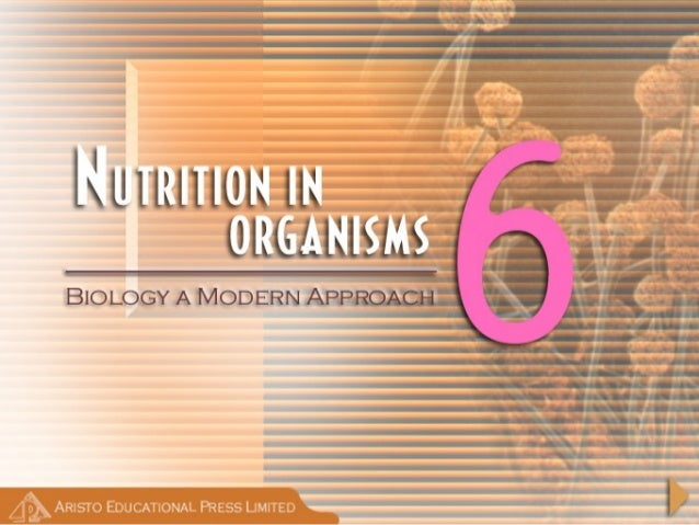 NutritionNutrition • Process by which organisms obtain and use the nutrients required for maintaining life