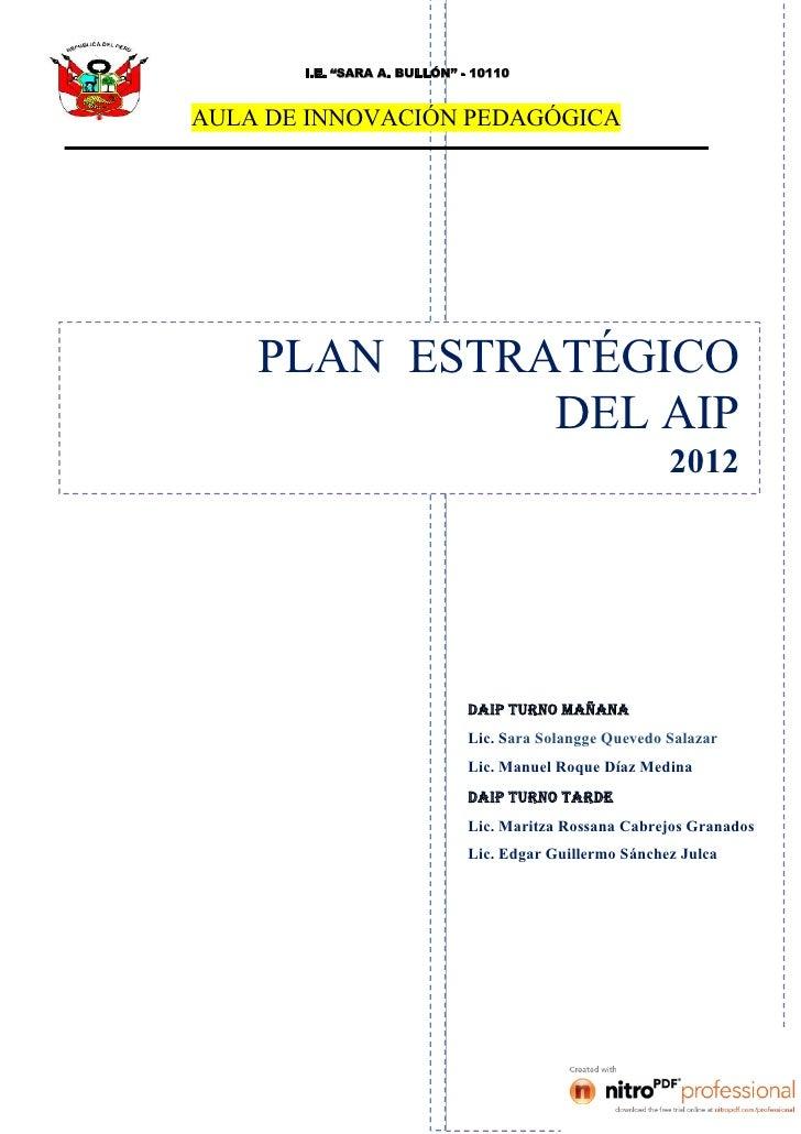 06 plan estrategico aip_2012