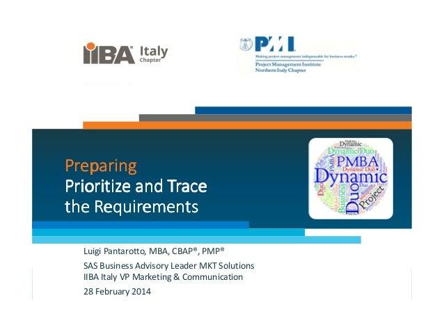 06 pm&ba dynamic duo prioritize & trace luigi pantarotto