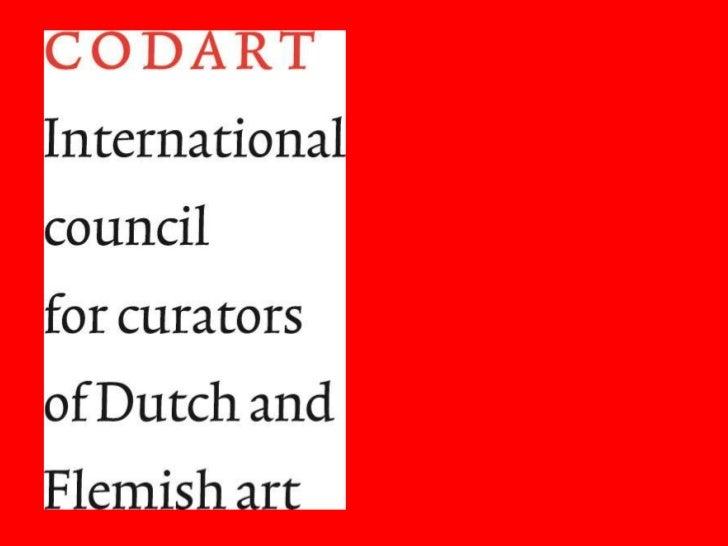 presentatie Codart
