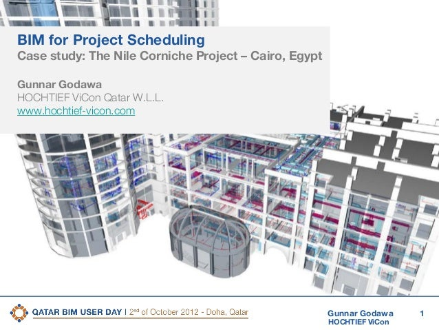 2nd Qatar BIM User Day  BIM Technology Case Study #1