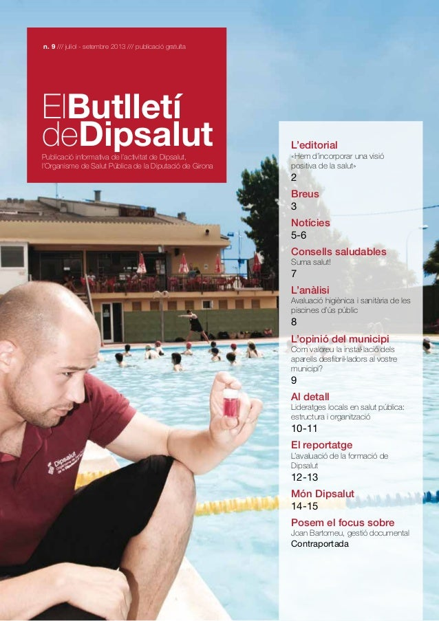 El butlletí de Dipsalut nº9, Jul 2013-Set 2013